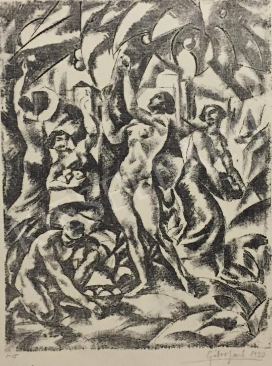 Eladó  Gábor Jenő - Szüret, 1922 festménye