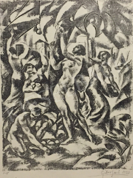Gábor, Jenő - Harvest, 1922