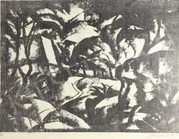 Gábor Jenő - Tájkép, 1923