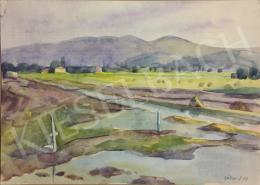 Gábor, Jenő - Swampy Landscape, 1958
