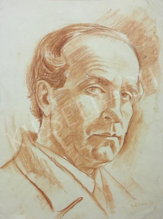 Eladó  Gábor Jenő - Önarckép festménye