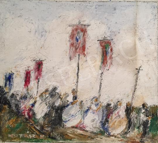 Kotász, Károly - March painting