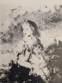Náray Aurél - Anya gyermekével