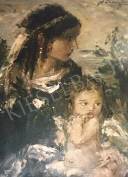 Náray Aurél -  Lány angyallal