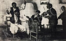 Náray Aurél - Kocsmai jelenet