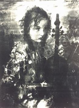 Náray Aurél - Lány hegedűvel