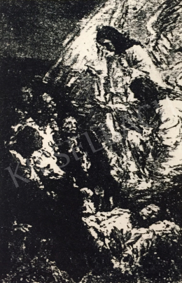 Náray Aurél - Angyalok kihirdetik Jézus születését