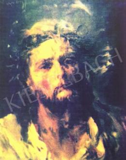 Náray Aurél - Krisztus töviskoszorúval