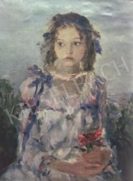 Náray Aurél - Lány könyvvel