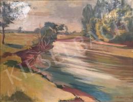 Bornemisza Géza - Nyári folyópart, 1952