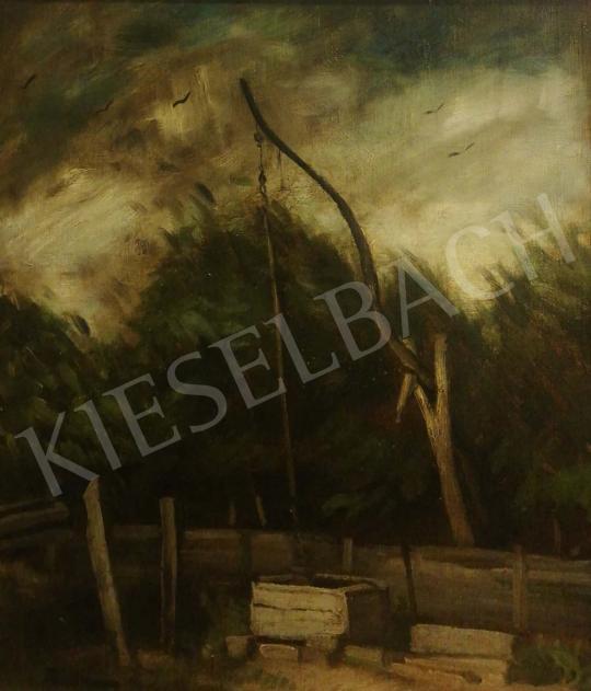 Eladó  Rudnay Gyula - Vihar a kútnál festménye