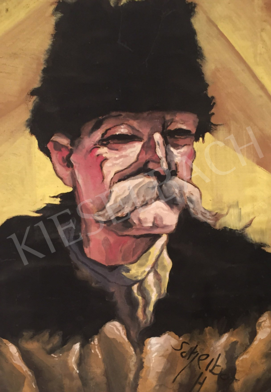 For sale  Scheiber, Hugó - Old Man in Hat 's painting