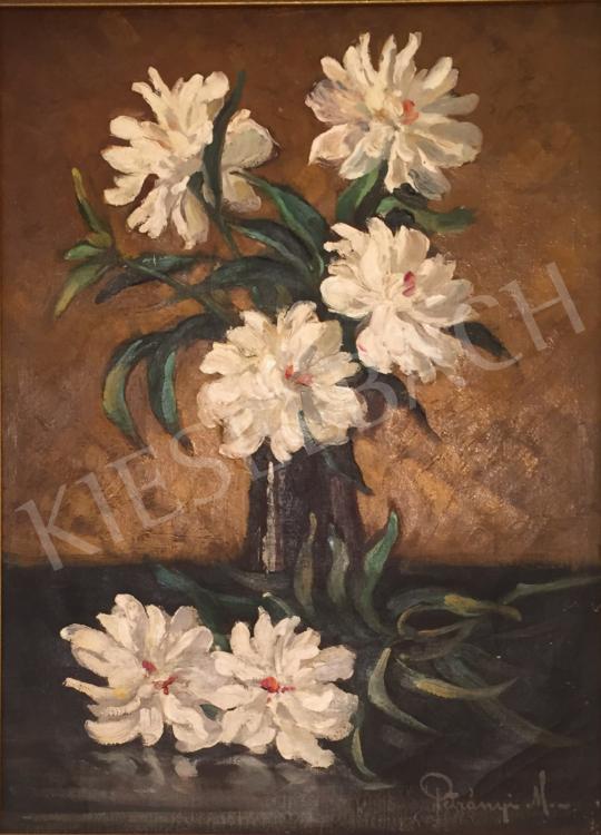 Eladó  Petrányi Miklós - Virágcsendélet festménye