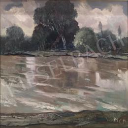 Molnár C., Pál - Riverside Landscape