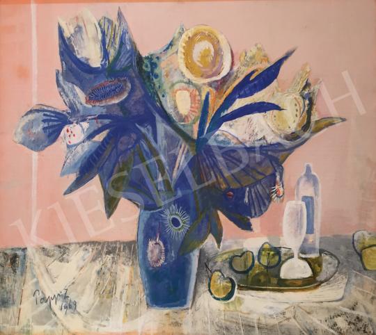 Eladó Papp Zoltán - Csendélet, 1969 festménye