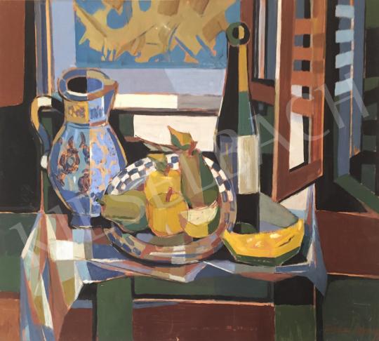 Farkas György - Csendélet műteremben festménye