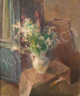 Onódi, Béla - Flowers in a White Vase