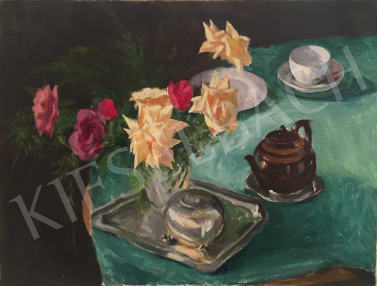 For sale  Benkhard, Ágost - Table Still-Life 's painting
