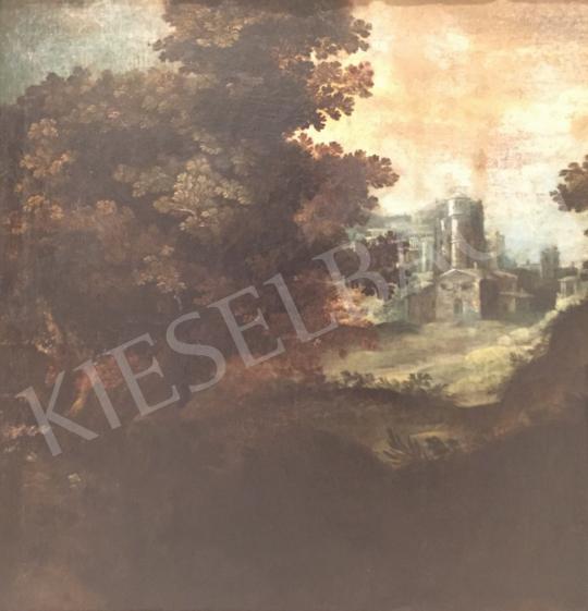 Eladó  Ismeretlen XVII. századi festő - Táj festménye