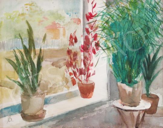 Eladó  Bernáth Aurél - Műteremablak festménye