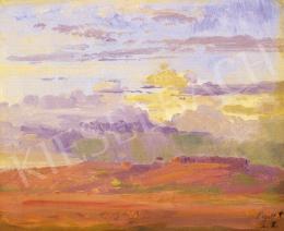Ligeti Antal - Felhős táj
