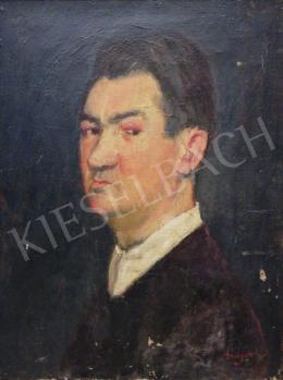 Ismeretlen festő Major jelzéssel - Férfi portré
