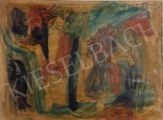 For sale  Bene, Géza - Trees, 1945 's painting