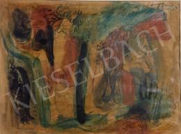 Bene, Géza - Trees, 1945