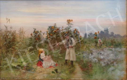 For sale Neogrády, Antal - Family idyll 's painting