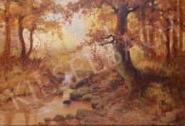 Neogrády László - Tarka őszi erdő
