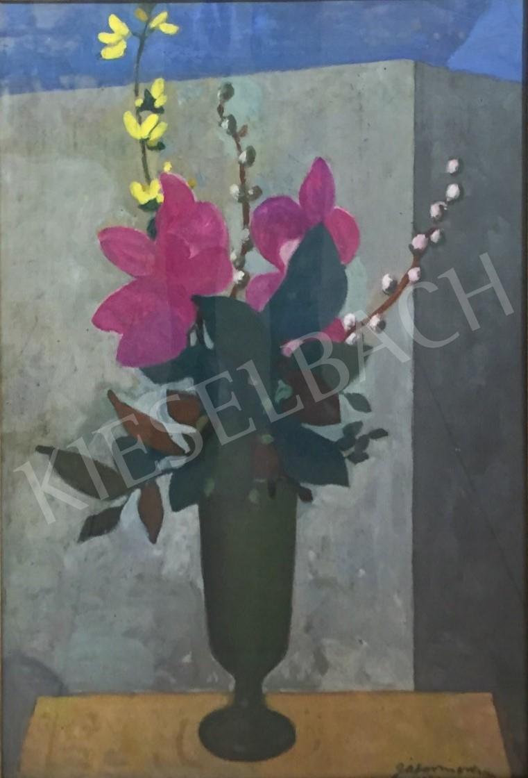 Gábor Móric - Virágok festménye 736ecb226d