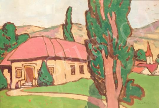 Eladó  Kádár Béla - Kúria festménye
