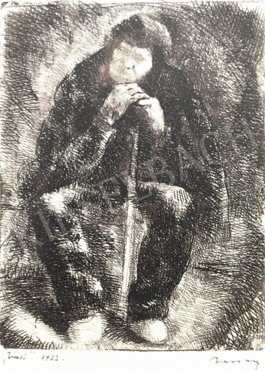 For sale  Barcsay, Jenő - Resting Man, 1922 's painting