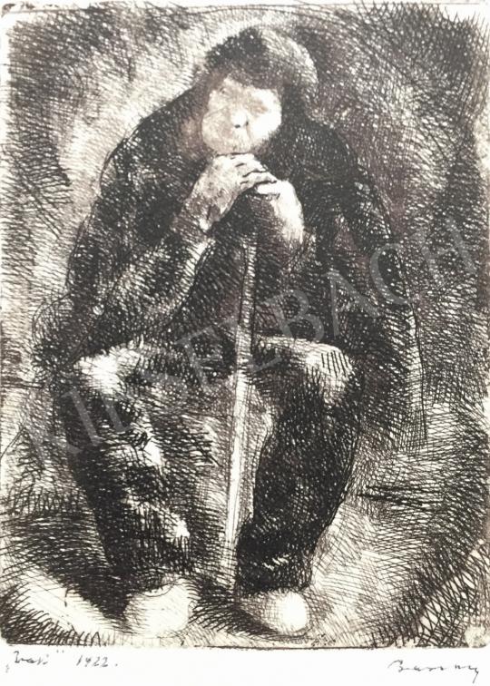 Eladó  Barcsay Jenő - Pihenő férfi, 1922 festménye