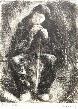 Barcsay Jenő - Pihenő férfi, 1922