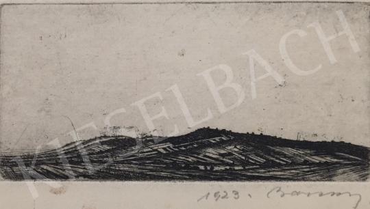 Eladó  Barcsay Jenő - Látkép domboldallal, 1923 festménye