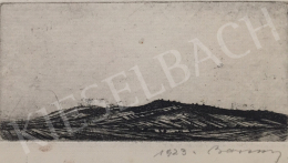 Barcsay, Jenő - View with Hills, 1923