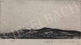 Barcsay Jenő - Látkép domboldallal, 1923
