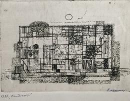 Barcsay Jenő - Konstrukció, 1977