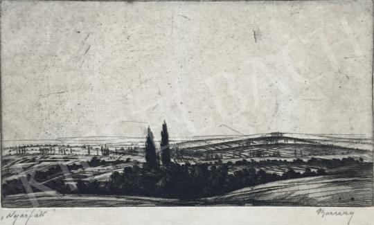 Barcsay Jenő - Nyárfák festménye