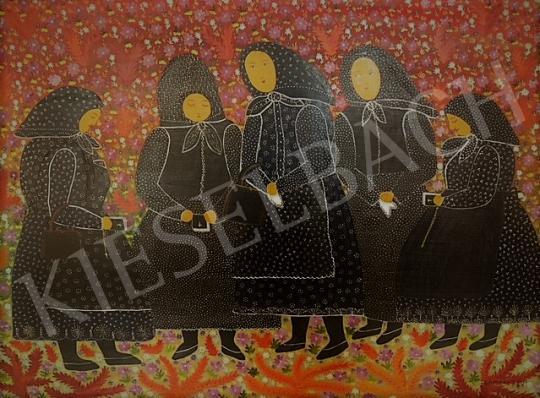 For sale Gombkötőné Tóth, Ilona - After Mass, 1953 's painting
