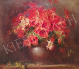 Dolányi Benczúr, Ida - Flower Still-Life