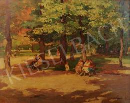 Gaál Ferenc - Tavaszi fények a parkban