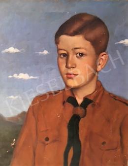 Pohárnok Zoltán - Cserkész fiú