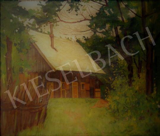 Eladó Kóbor Henrik - Erdei ház festménye