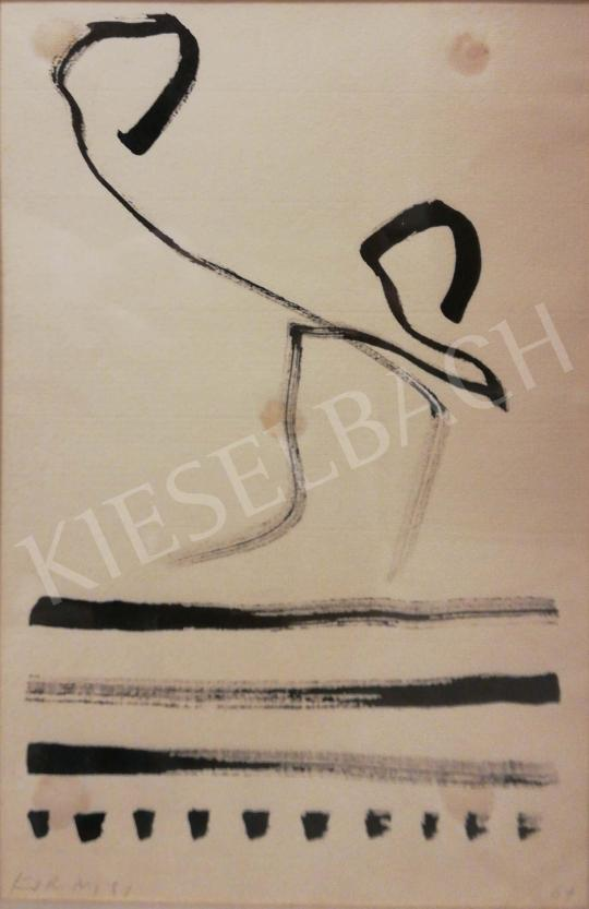 For sale  Korniss, Dezső - Calligraphy 's painting
