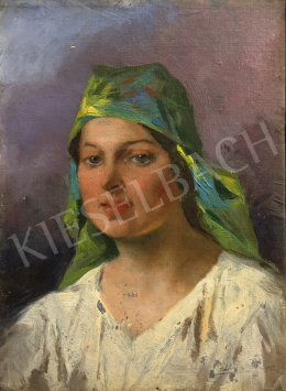 Pállya, Celesztin - Milfs with Green Kerchief