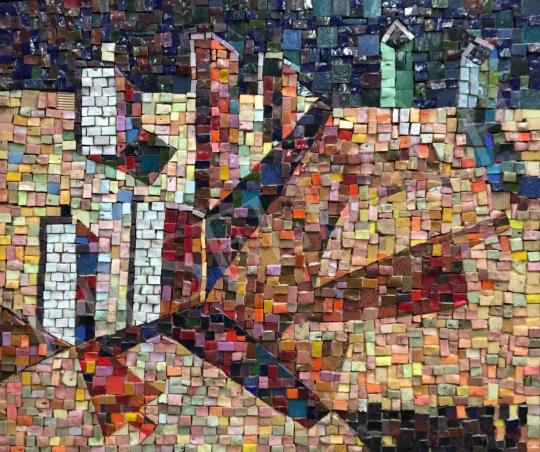 Makrisz, Zizi - Mosaic-Szentendre painting