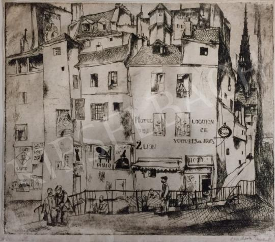 Eladó Vadász Endre - Lioni városkép festménye