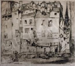 Vadász Endre - Lioni városkép
